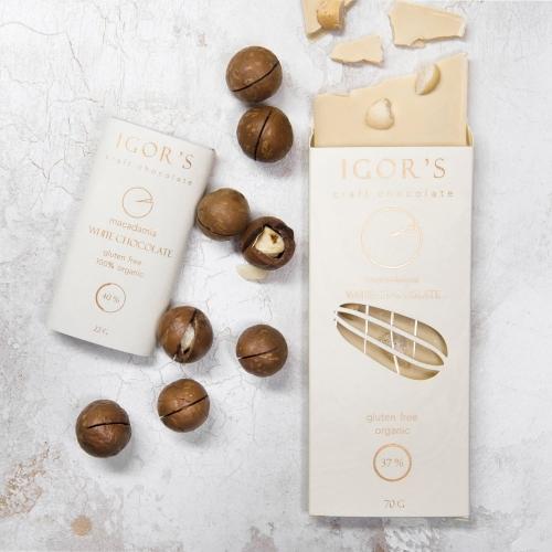 шоколад с макадамией
